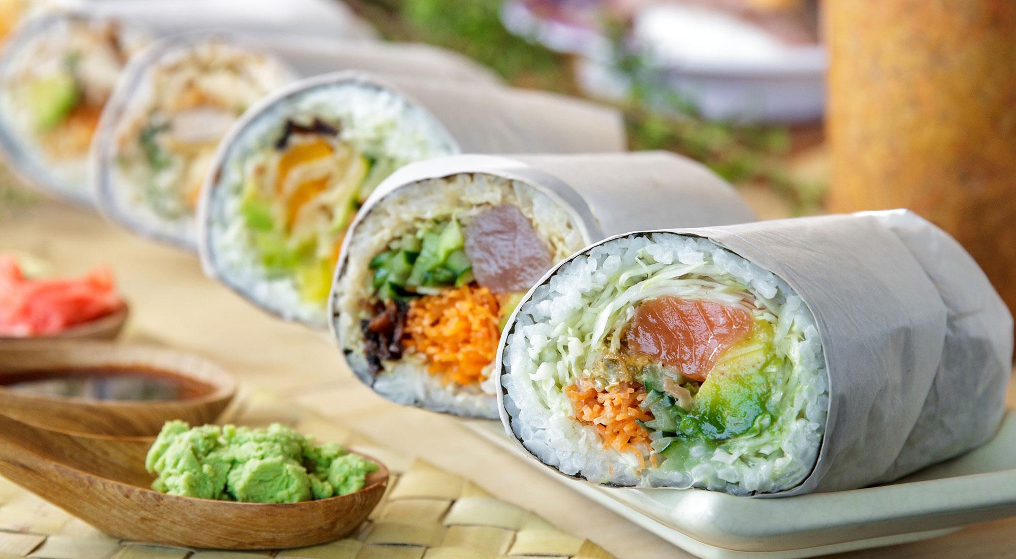 U Maki Sushi Burrito