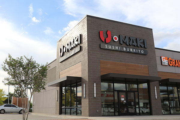 U Maki Sushi Burrito in Houston