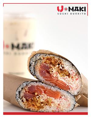 U Maki Sushi Burrito Franchise Information